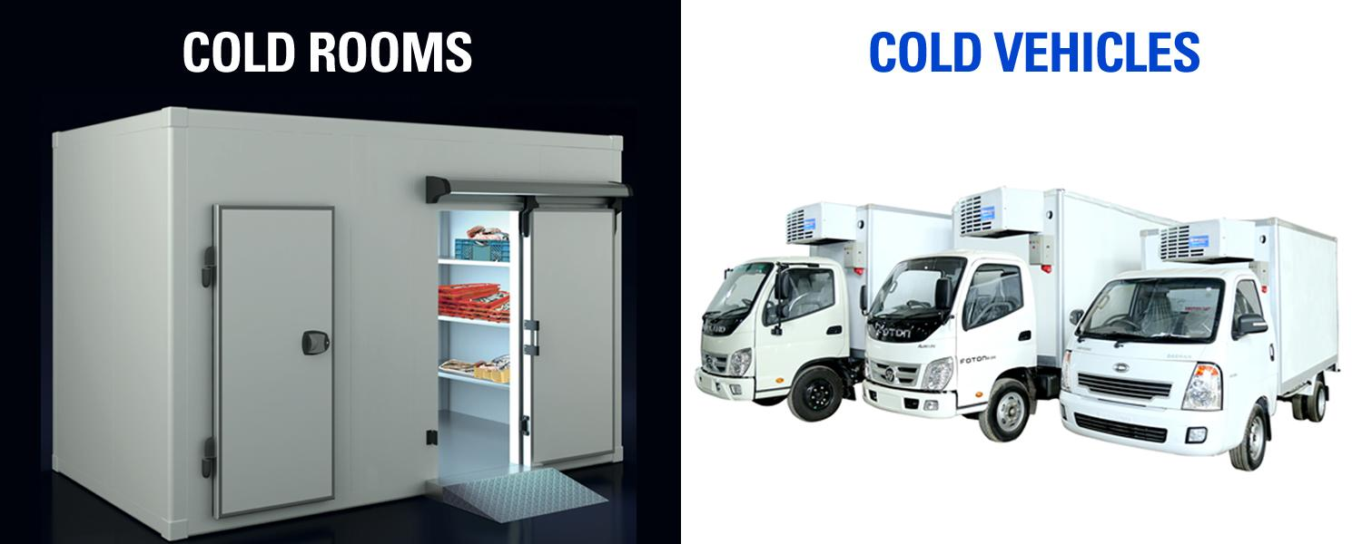 Cold Rooms, Cold Vehicle